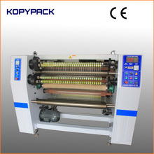 Four Shaft Automatic Plastic Film Roll Slitting and Rewinding Machine