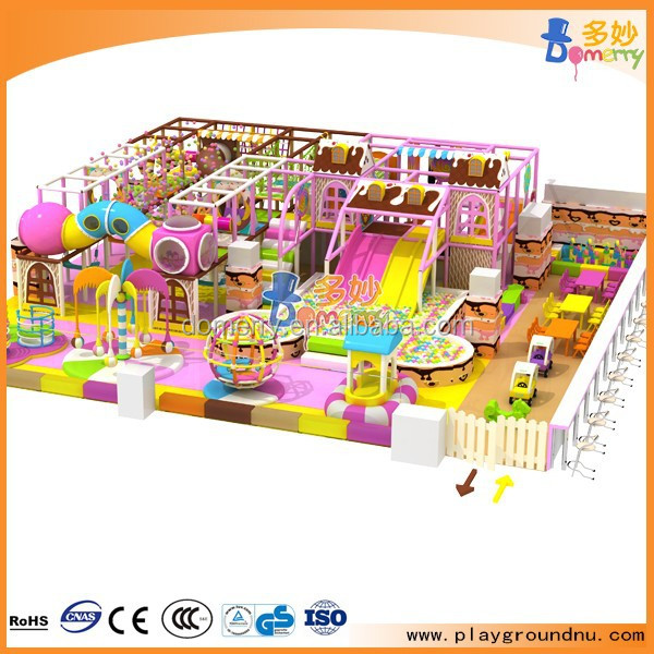 Candy theme free design 3D drawing children indoor soft play toys