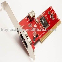 4-Port Firewire IEEE 4/6 Pin Adapter VIA Chipset firewire 1394a pci card for DC DV TO PC