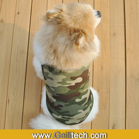 Pet Cool Camouflage Style Cotton Vest for Pet Dogs Clothes