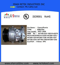 Car Air Conditioner Compressor 6SEU16C for Toyota Camry /Previa