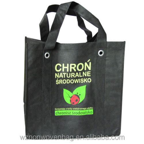 Promotional Customized Reusable Packaging Shopping Non Woven Bag Pp