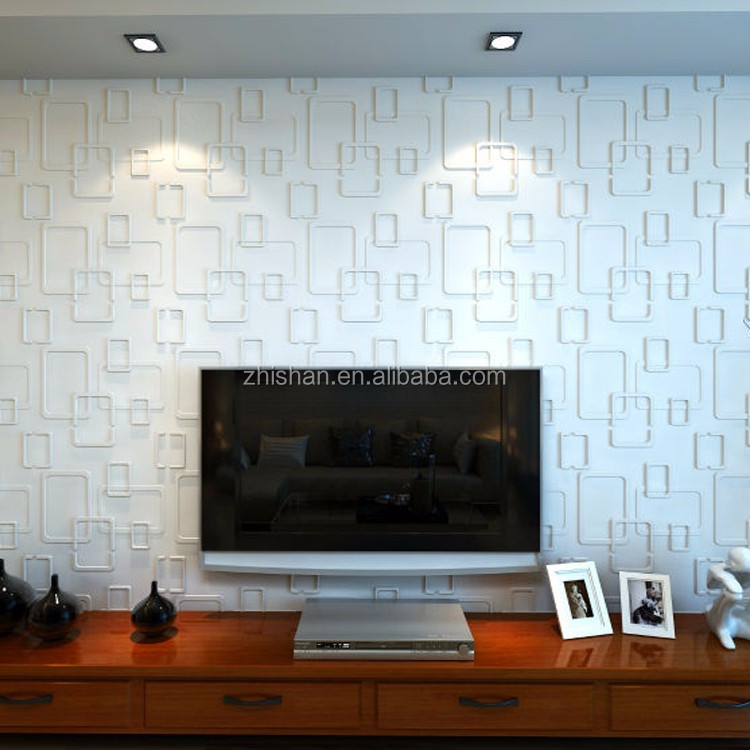 Eco-Friendly Acoustic Sound 3D PVC Wall Board/Panel for Home