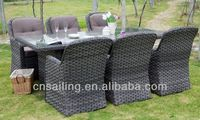 Luxury Patio Easy Cleaning rattan furniture from chiang mai