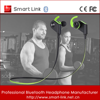 Mobile accessories magnet stereo fashion sports bluetooth headset for all smart phone