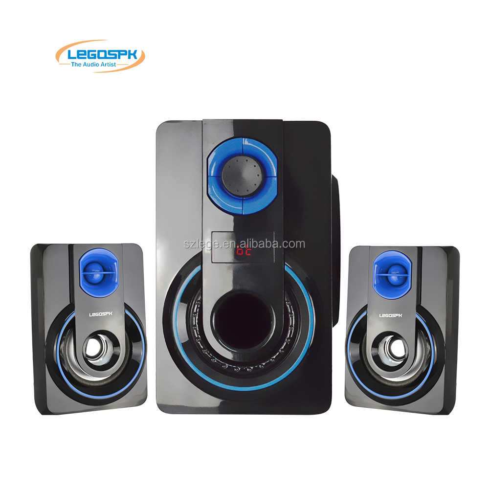 10 years factory online sell 2.1ch High Quality Wooden Case Surround Sound Speakers Wood Bluetooth Speaker