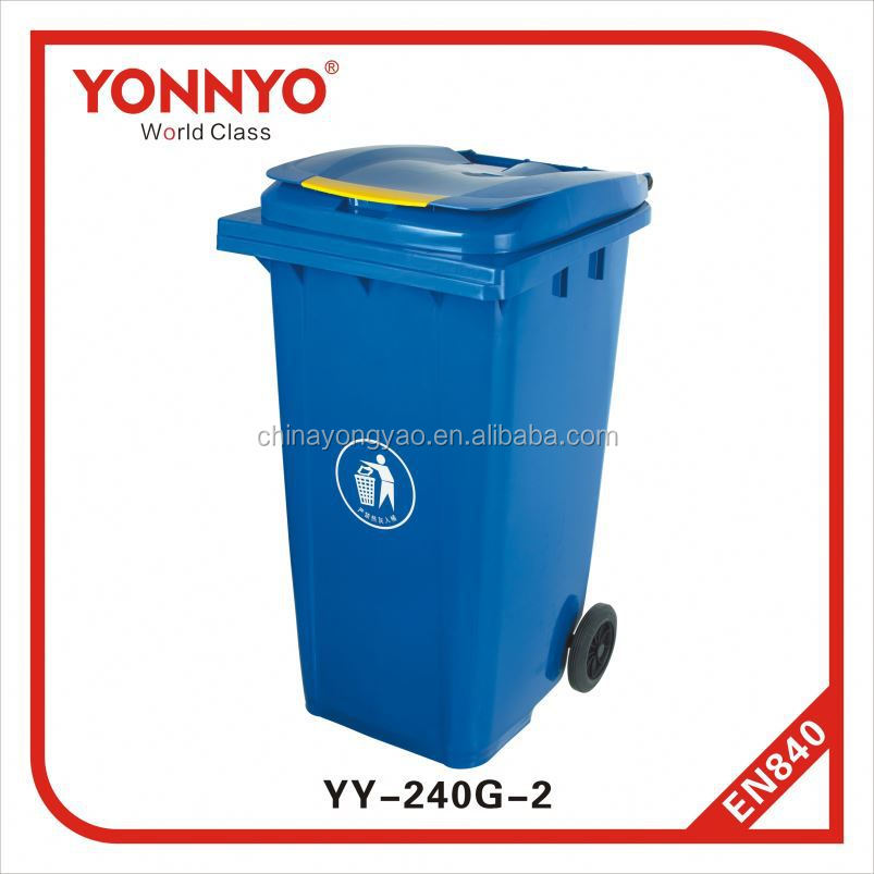Street Wheels Recycling Litter Bin