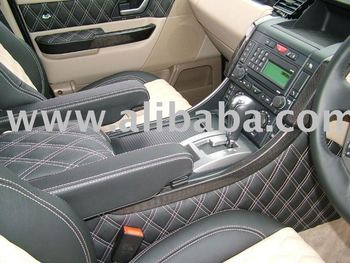 TRANSCAL Leather Seat Cover