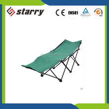 Hot Sale Promotion Folding reclining beach chair military camping cot