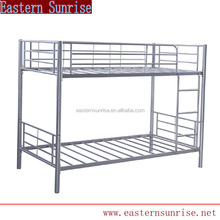 For military camp cheap strong metal steel iron bunk bed