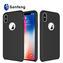 Original Liquid Silicone Case For Apple IPhone 8 Plus X 7 6 5 5S SE Genuine OEM Cover Case