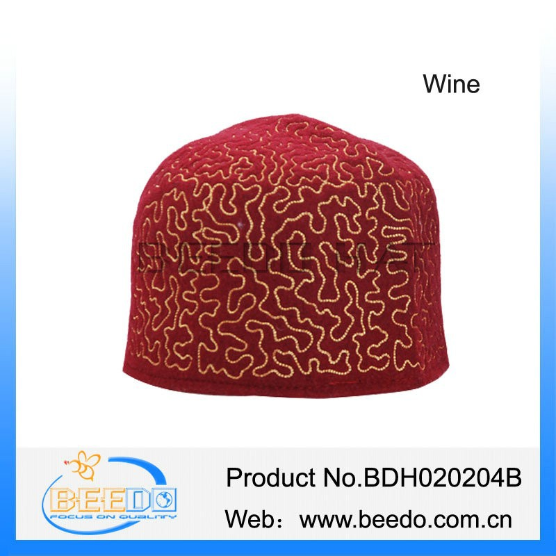 Wholesale alibaba embroidery muslim cap buy online for india