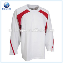 100% polyester hockey jersey,team canada garments,hockey new jersey