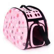 Breathable Folding Pet Small Dog Cat Externide dog carrier bags