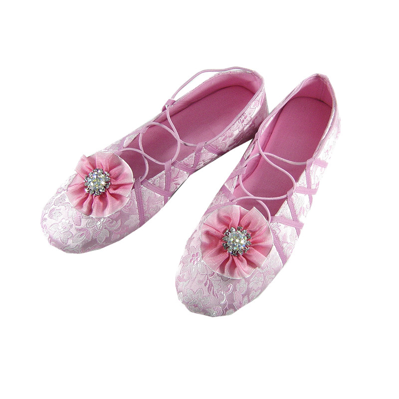 wholesale pure silk bedroom shoes dance women shoes buy wholesale
