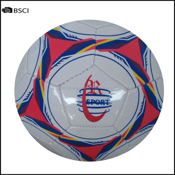 PVC soccer ball stock football 300g hot sale