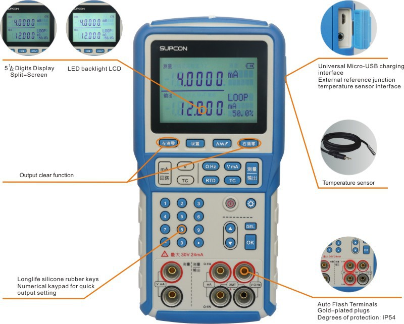 Competitive price factory directly generator for the temperature sensor calibration