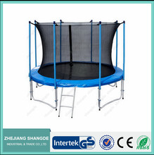 rent a 12ft trampolines with safety enclosure for kids