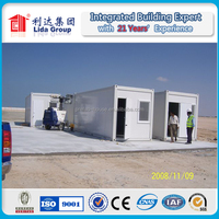 20ft prefabricated container house/ living container house/ container home