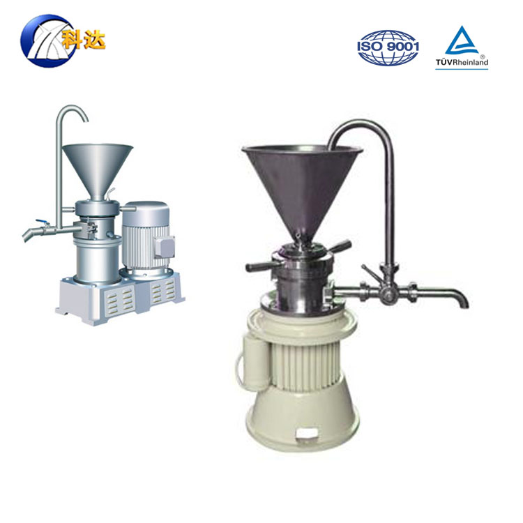 65 Small colloid mill 50kg for pepper sauce and bitumen