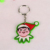 2012 Cute Top Quality 3d Soft pvc Key Chain/Key Ring