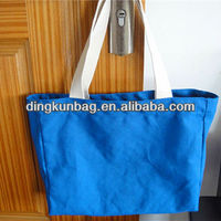 Blank cotton canvas wholesale tote bag