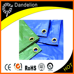 waterproof PE tarpaulin with long lifespan and UV protection
