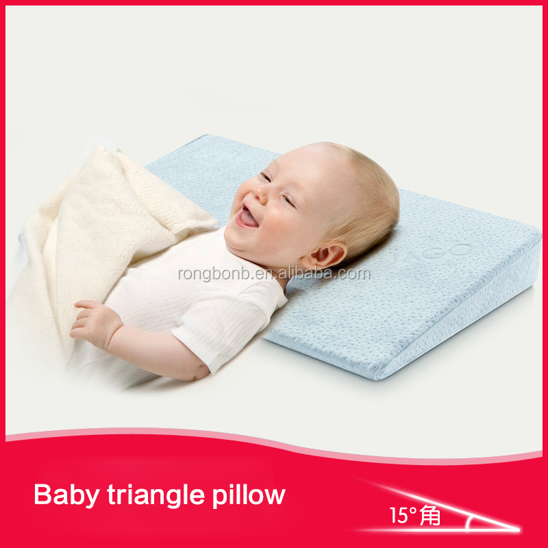 2017 HOT NEW PRODUCTS TRIANGLE BABY STROLLER 3D PILLOW SLEEP WEDGE FOR BABY BASSINET WEDGE PILLOW