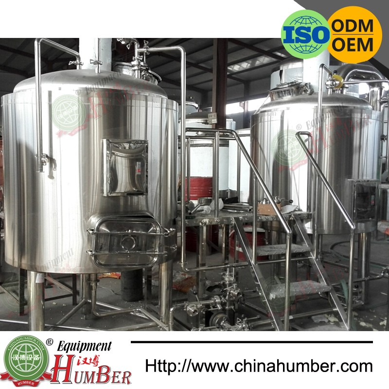5bbl 7bbl Stainless Steel Micro Brewery Equipment For Sale