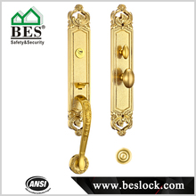 Special design main door pull handle lock kit