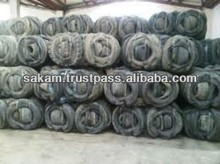 Black Color Scarped Used Tyre for Sale