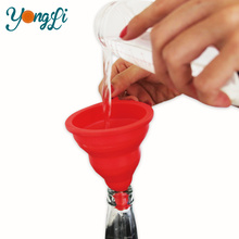 Cheap Silicone Drinking Funnel Utensils for Wine or Milk