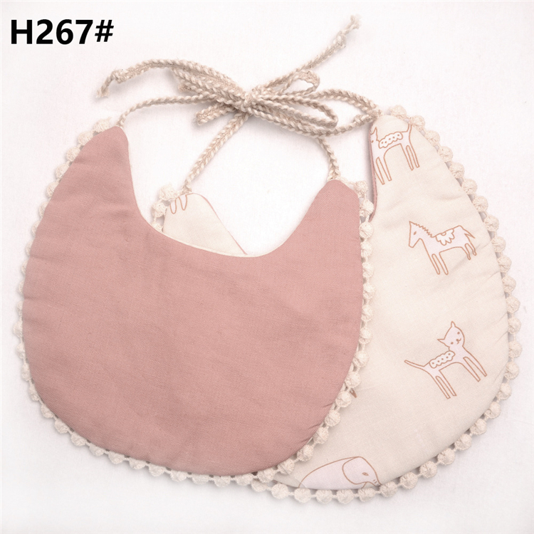 Happy flute cheap organic cotton baby body bibs washable
