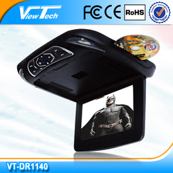 2014 hot sell roof car dvd with 2 extra colors changeable casing