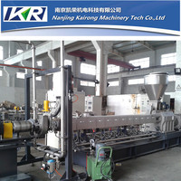 underwater pelletizing/cutting/granulating twin screw extruder for CACO3 masterbatch/EVA/PIB/EPDM/TPU/TPE