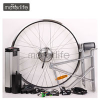 "MOTORLIFE 2014 HOT SALE ROHS CE pass 250/350/500w 16""~28"" electric bicycle 700c wheel kit"