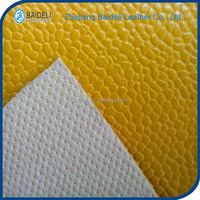 wholesale factory price lichee grain PVC leather for sofa chair cover