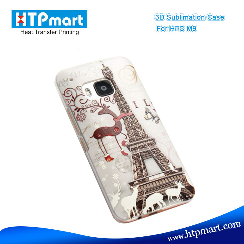 Custom printed phone cover 3d smart phone case printing for HTC M9