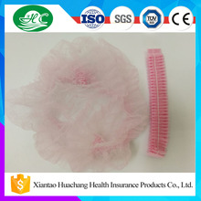 Factory Supply Colorful Disposable Nonwoven Surgical Printed Bouffant Cap