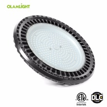 CE RoHS ETL DLC Dimmable IP65 Water proof UFO LED High Bay Light for Warehouse and Factory