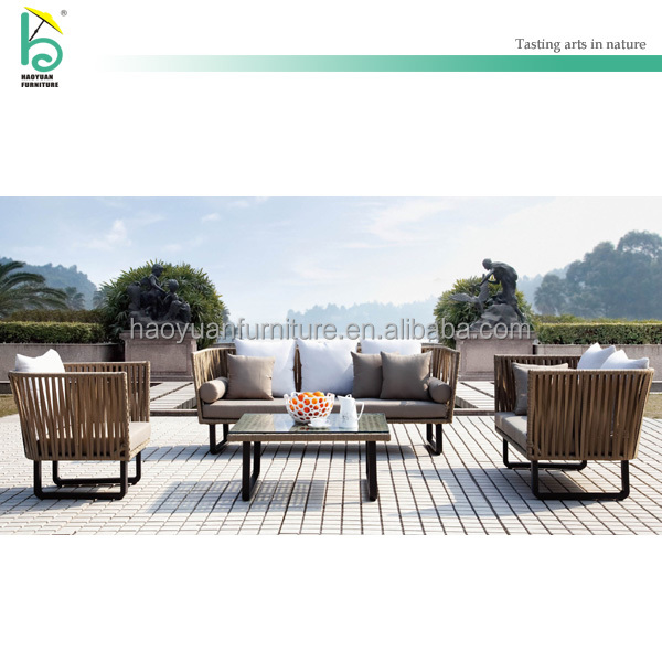 outdoor rattan sofa/wicker sofa hotel furniture