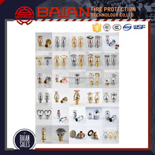 Fire Fighting Equipment Of All Types Glass Bulb Fire Sprinkler With Best Price