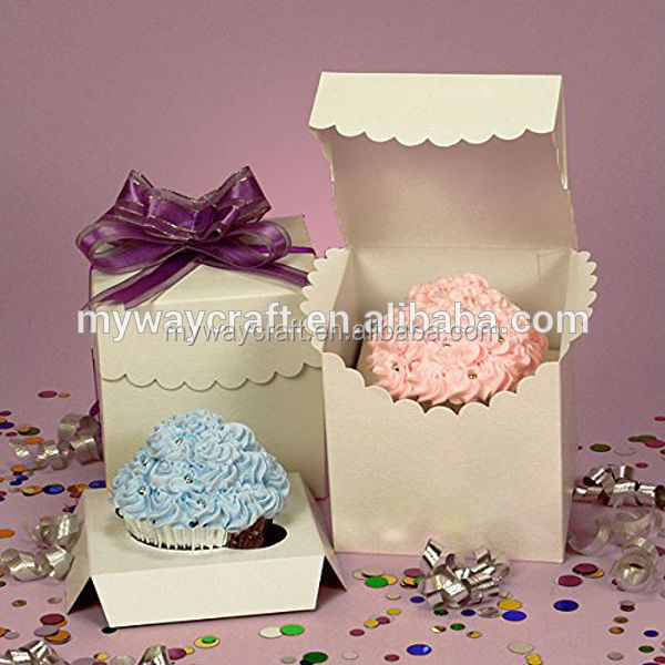 Lace Tuck Kraft Paper Mini Candy Gift Box