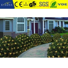Manufacturer Price Luxury christmas holiday outdoor triangle led net light strip for tree decoration