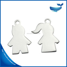 Fashion Couple Jewelry Wholesale Jewelry Pendants For Engraving