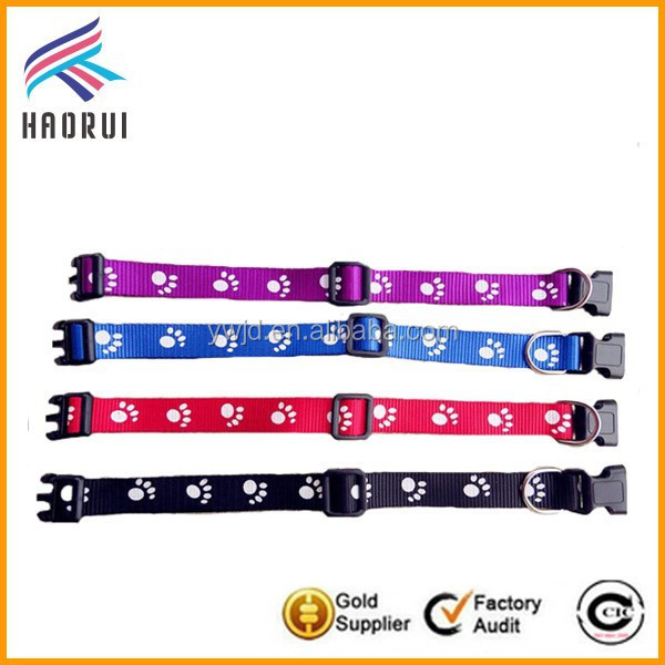 Yiwu Factory Nylon Pet Product Dogs Collar Wholesale