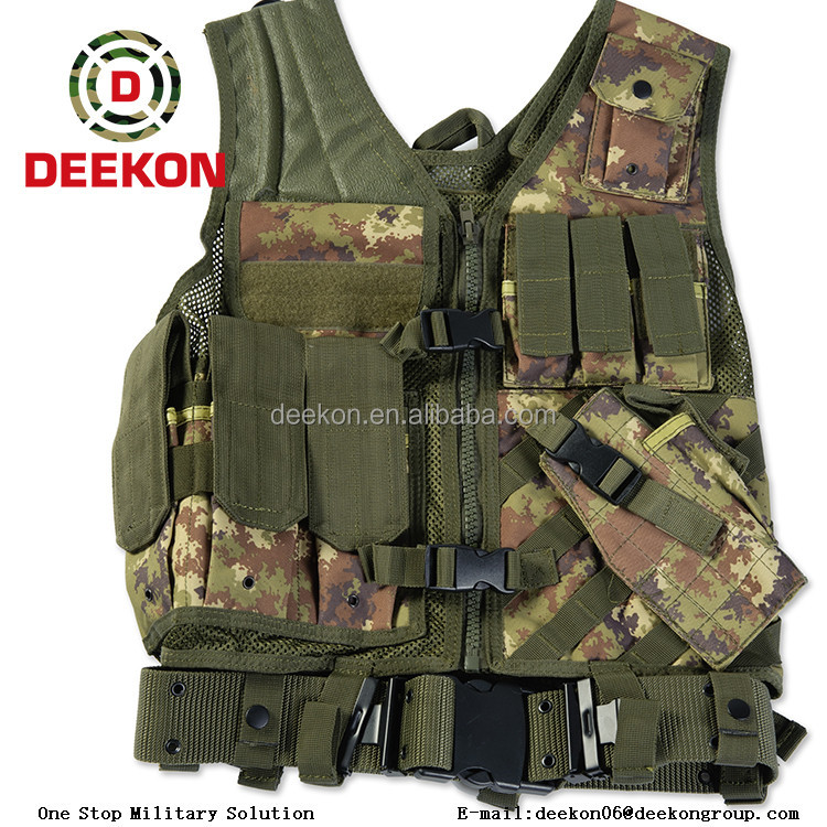 China manufacture special forces tactical combat vest for government tender