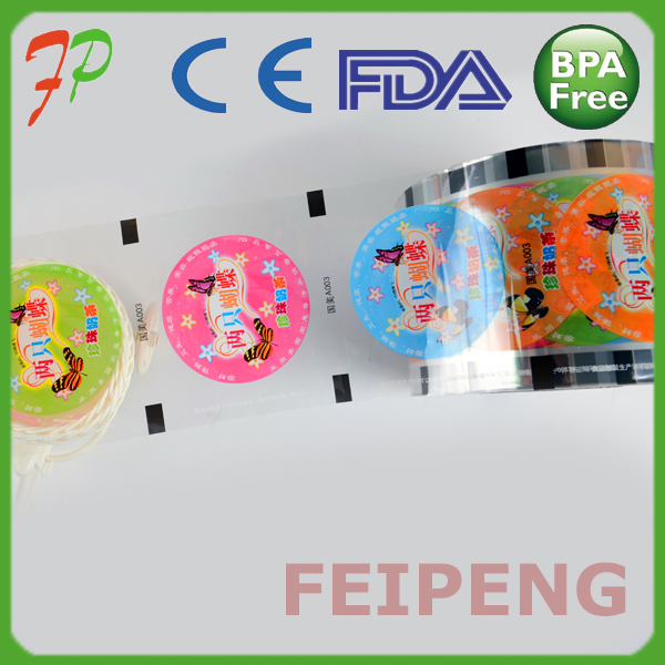 Plastic Fruit Jelly Cup Sealing Film