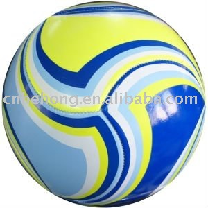 colorful/mutil-color/cheap/promotional soccerball and football