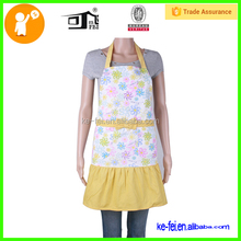 apron with ribbon custom adjust sling bib garden apron